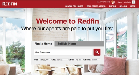 Redfin-Homepage